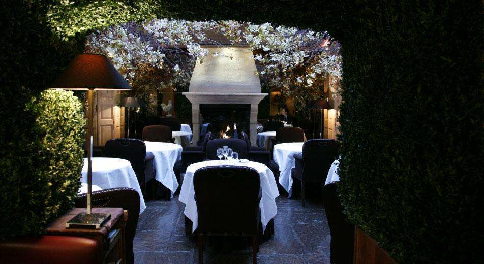 Romantic restaurant covent garden