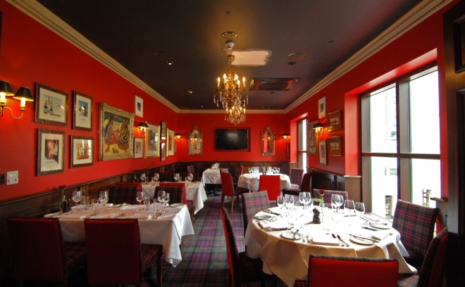 Boisdale of Canary Wharf, Lond